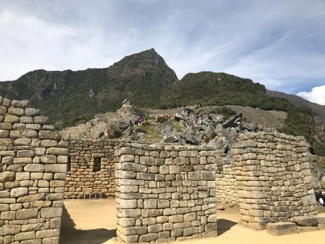 Macch Picchu - Group of three doorways =