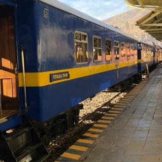 The Peru rail train