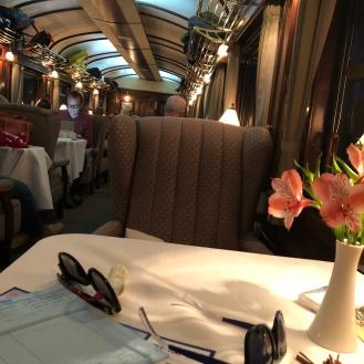 The vistadome Train