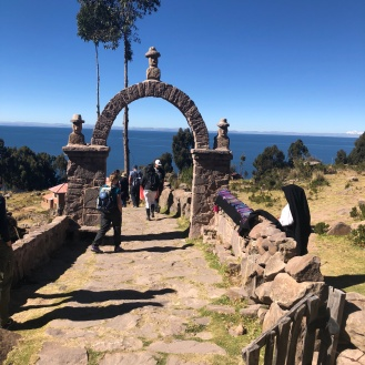 The arch that divides the Island communities